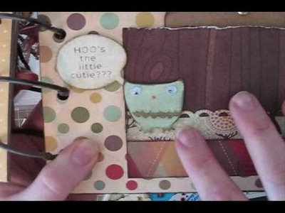 Yay! An Owl Mini Album by GingerCupcake!