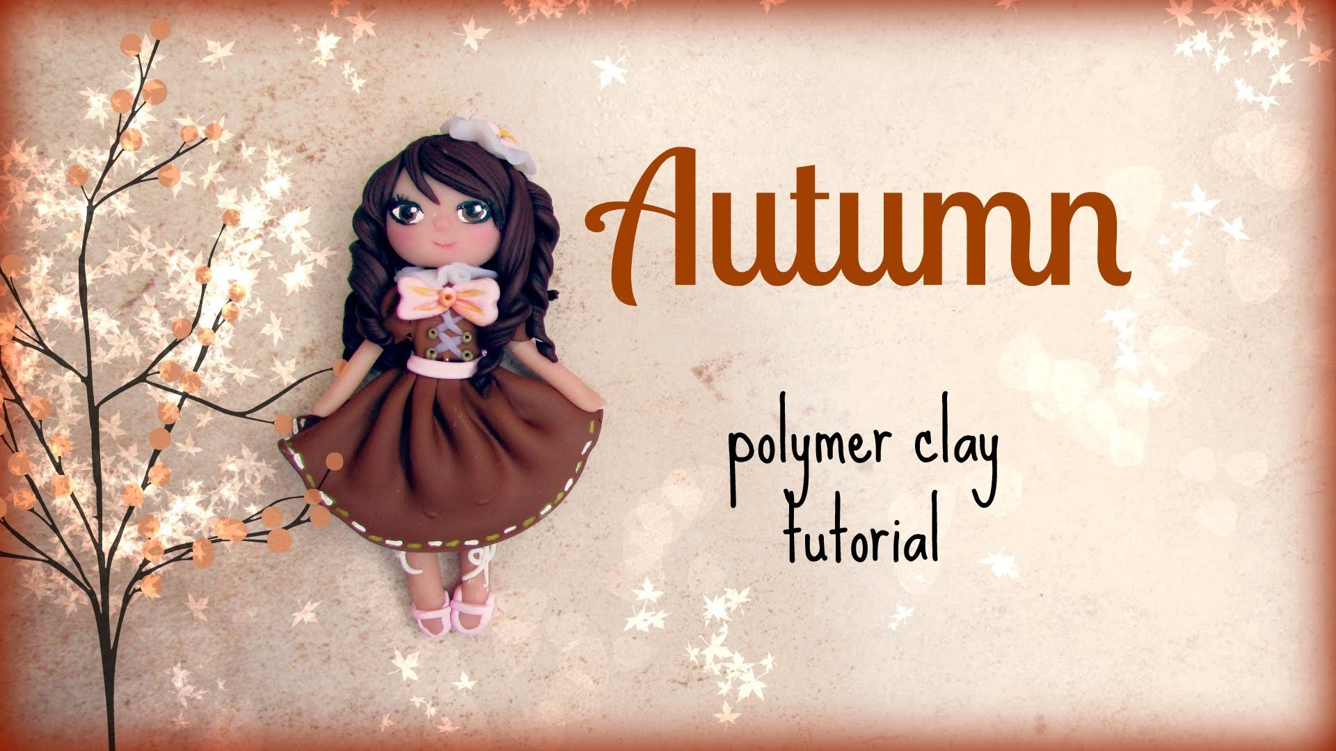 4 Seasons ▪ Autumn ▪ Polymer Clay Tutorial ❀ Doll Chibi