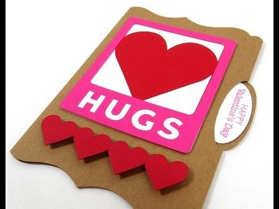 Artbooking Cricut Cartridge File Folder Hugs Card