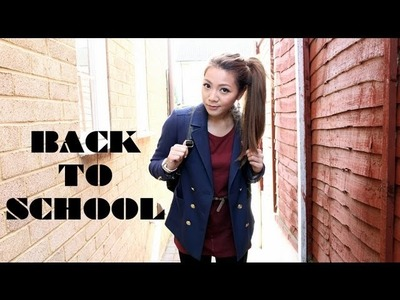 Back to School Outfits - College.Uni Ideas