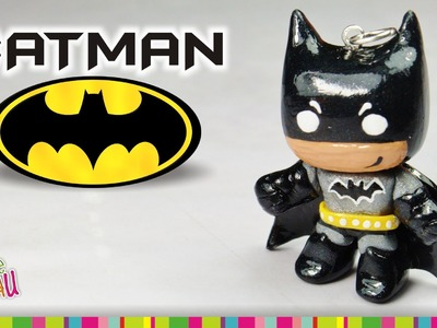 Batman polymer clay tutorial. Batman de arcilla polimérica