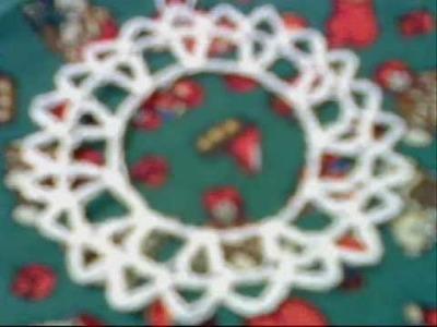 Christmas decorations (bobbin lace, tatting, frivolite, chrochet)