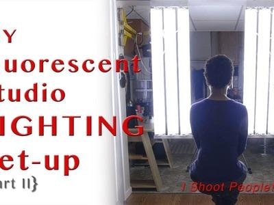 DIY Fluorescent Photography Studio Lighting - Part II