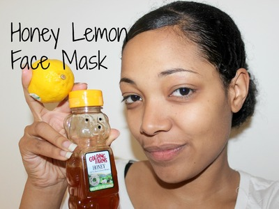 DIY: Honey Lemon Face Mask