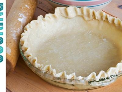 Easy Homemade Pie Crust Recipe ~ How to Make Pie Crust