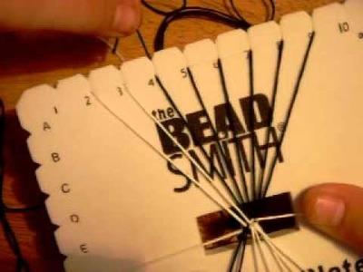 Friendship Bracelets: How to weave on a Kumihimo Plate