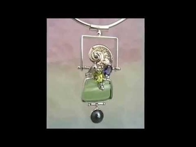 Handmade Jewelry, Peridot Jewelry, One of a Kind Jewelry