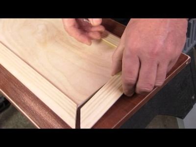 How To Add Decorative Panels To Cabinets