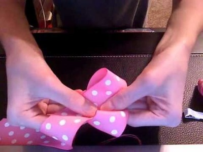 HOW TO: Make a 3 Inch Basic Boutique Bow Using 18