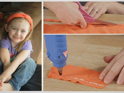 How to make a Braided Headband with Repurposed Clothing