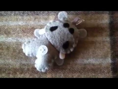 How to Make a Cute Hippo Plushie