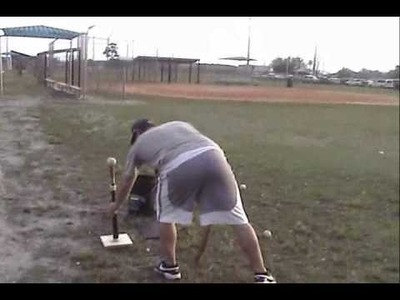 How to make a homemade Hitting.Batting Tee for Baseball