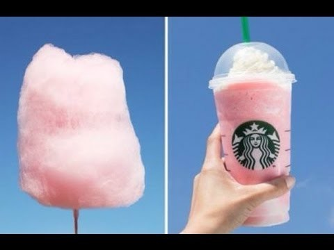 How To Make A Starbucks Cotton Candy Frappuccino