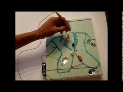 How to make a working operation game out of household materials