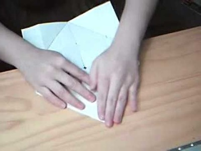 How to make an envelope without using scissors -- NO SPECIAL EFFECTS
