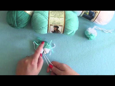 How To: Make an Ombre Pompom