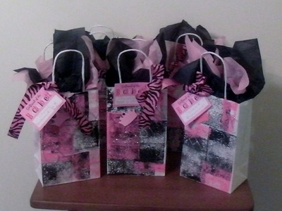 How to Make Bachelorette Party Bags - Diva Style!