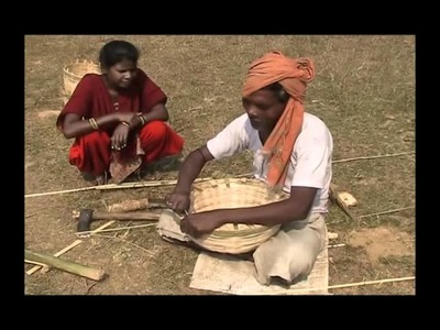 How to make basket from Bamboo Ho Pradan Jharkhand