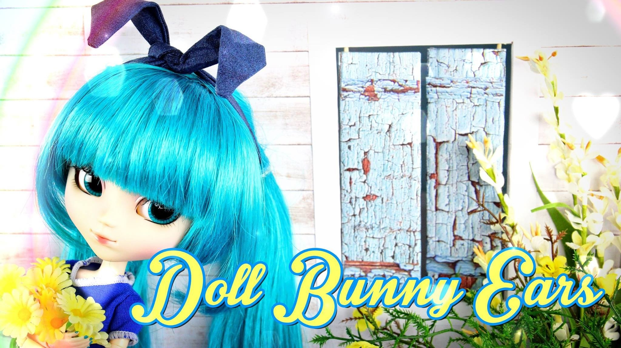 How to Make Doll Bunny Ears and Scarf - Doll Crafts