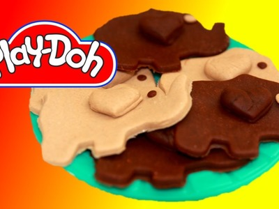 How to make Elephant Cookies out of Play Doh