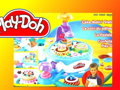 How to make Play Doh Cake with Cake Making Station