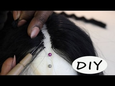 How To| Making a Lace Closure or Invisible Part Lace Closure
