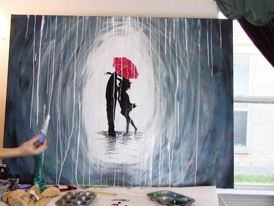How to Paint a Rainy Day Scene with Acrylics