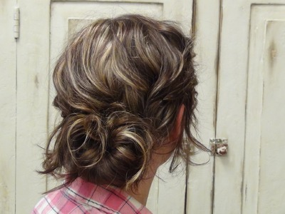 How To Style A Low Messy Bun Hairstyle