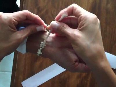 How to tie a Cruciani Bracelet