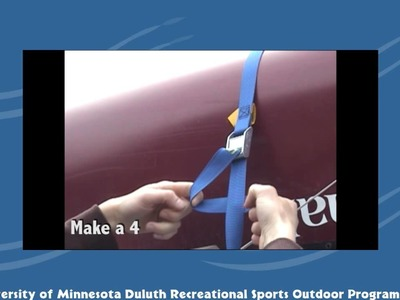 How to Tie Down a Canoe