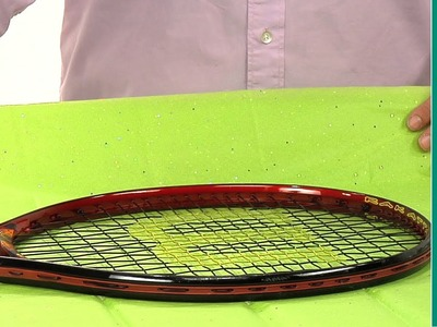How to wrap a tennis racquet