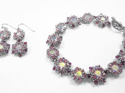 Jewel School Kit Project: Date Night Earrings and Bracelet
