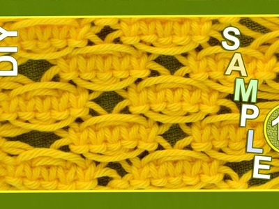 Macrame ABC - pattern sample #12
