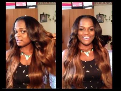 ❤My Ombre Hair D.I.Y⎮Cheap Brazilian Hair⎮BEAUTY MAX HAIR ❤
