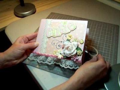 Paper bag album, baby girl, Jan 2011.MOV