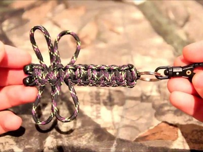 Paracord Dragonfly Keychain tutorial!!!!