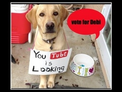 Please vote for Debi! My YouTube Story,  and my trip NYC to meet HGTV!