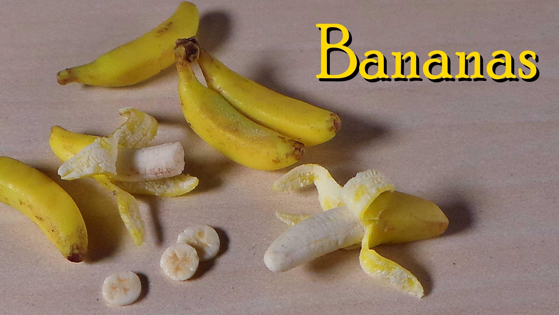 Polymer Clay Banana Tutorial - Miniature Food