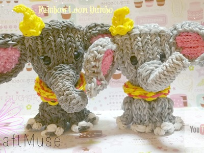 Rainbow Loom Dumbo.Elephant Part Two