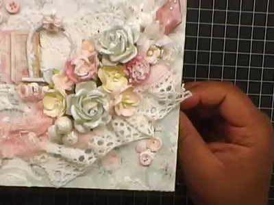 Shabby Chic-ness (Cards and Embellisments) - WOC
