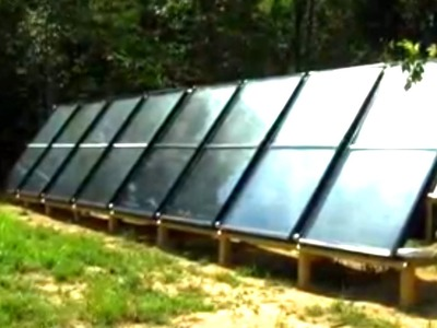 Solar Water Heating - Build it Yourself