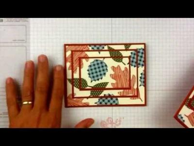 Stampin'Up Wonderfall Card Ideas