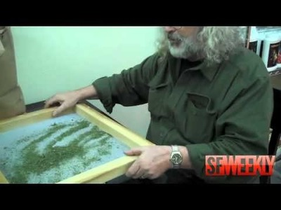 Steve Smith of HopeNet Demonstrates How to Make Hash