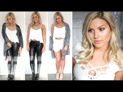 Style Lookbook ♡ Black & White Outfits! ♡ Pagan Marie, Showpo, Dailylook