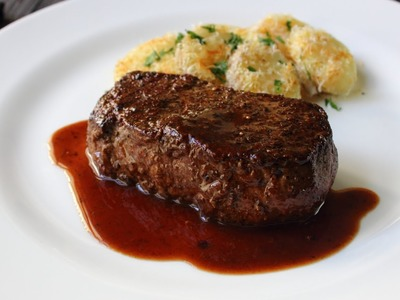 The Manhattan Filet Steak - How to Turn a NY Strip into a Filet Mignon