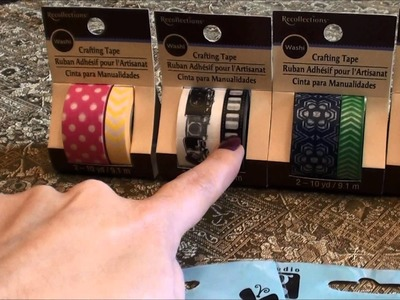 Washi Tape Haul - yes more recollections paper tape