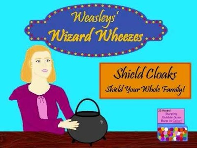 Weasleys' Wizard Wheezes (Inspired by Harry Potter 6)
