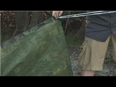Wilderness Survival : How to Make a Tent