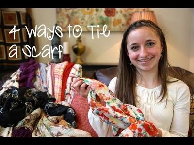 4 Ways to Wear a Scarf | Brooklyn and Bailey
