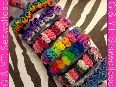 Candy Cloud Bracelet on Rainbow Loom